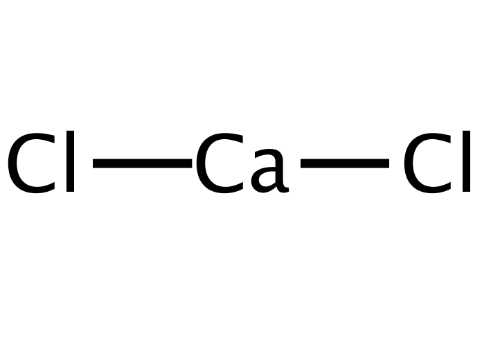 chemical formula for cacl2