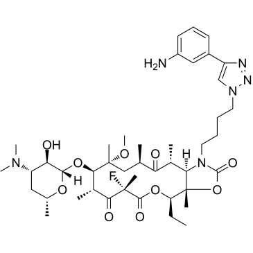 solithromycin chemical product from discovery